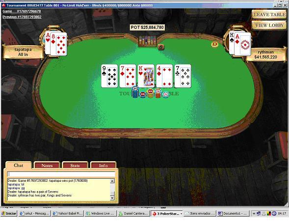 Tapatapa de Porto Alegre Ganha Maior Prémio Poker Jogador Brasileiro na Internet no Sunday... 105