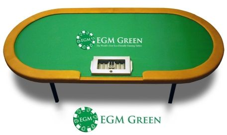EGM Green Eco-Friendly Poker Table Addresses Environmental Concerns 101