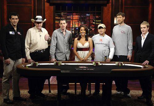 Nets vs. Vets w Poker Afer Dark 101