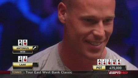 World Series of Poker на канале ESPN 101