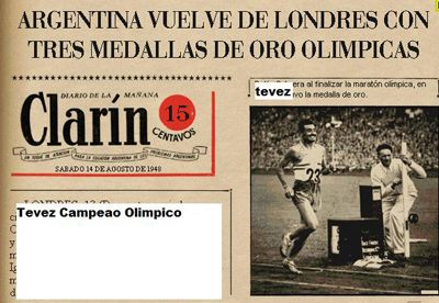 Tevez, Rei das Olimpíadas 106