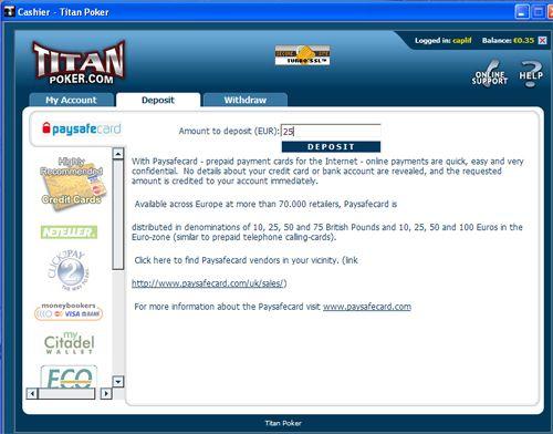 Paysafecard – Método Fácil de Depósito Online 103