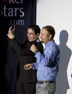European Poker Tour Awards 2008 - Pagano Joueur de l'année 101