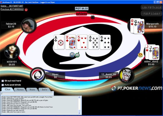 Background Mesas Nas Salas de Poker – Logo PT.PokerNews Grátis 105