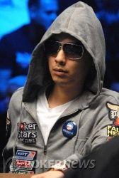 Иван Демидов на финальном столе WSOP Main Event, в игре... 101