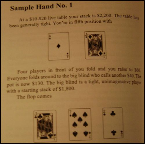 Harrington on Cash Games, Osa II 102