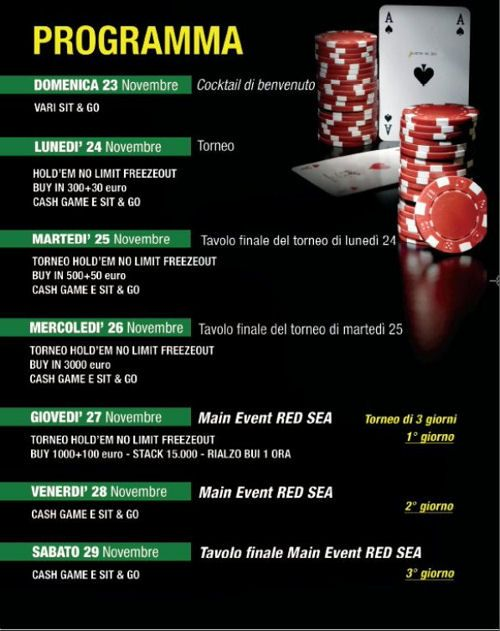 E' di nuovo Royal Poker Tour! 101