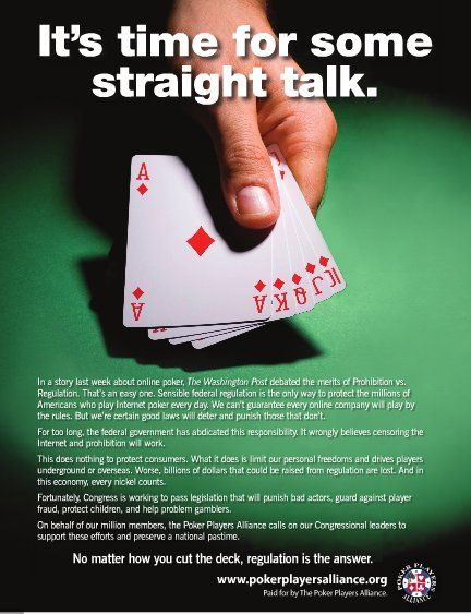 PPA Targets DC Officials with Gambling-Regulation Print Ads 101