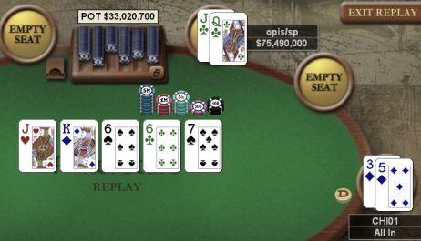 Online Poker Weekend: Three-way Chop in Sunday Million 101