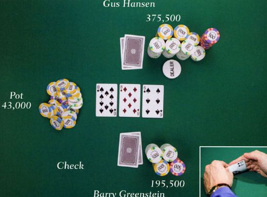Boganmeldelse - Barry Greenstein - Ace on the River - An Advanced Poker Guide 103
