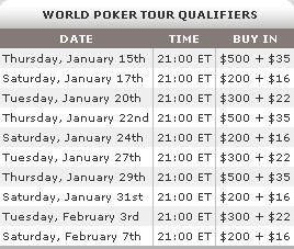 Qualifique-se Para o WPT LA Poker Classic na Full Tilt Poker 101
