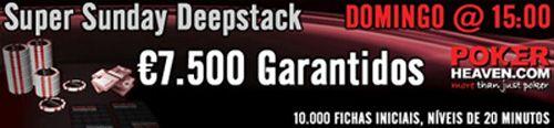 Torneio Super Sunday Deepstack €7.500 Garantidos! 101