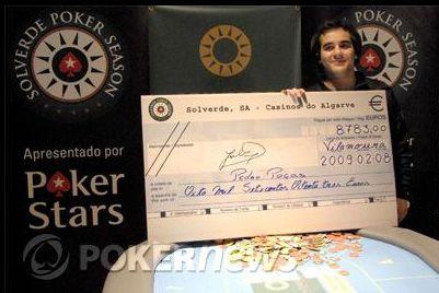 Pedro Poças Venceu Etapa #2 da PokerStars Solverde Poker Season 102