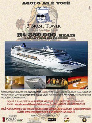 Brasil Tower de Volta em Abril – Navegue no Poker 103