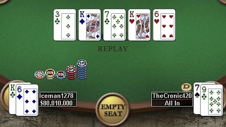 Online Poker Weekend: Two-outer Keys 'grimmy101' Win 101