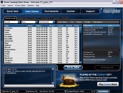 Tower Poker Já Disponível na PT.PokerNews! 101