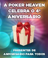 Poker Heaven Festeja 4º Aniversário com Upgrade de Software e Promoções 106