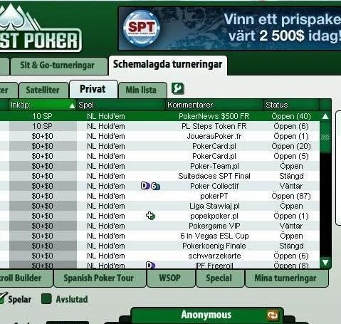 0 freerollserie hos Everest Poker i HELE 2009! 101