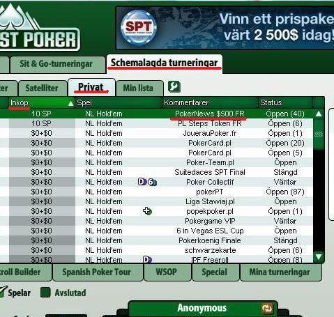 Everest Poker 0 Cash Freeroll Series. Spil igennem hele 2009! 101
