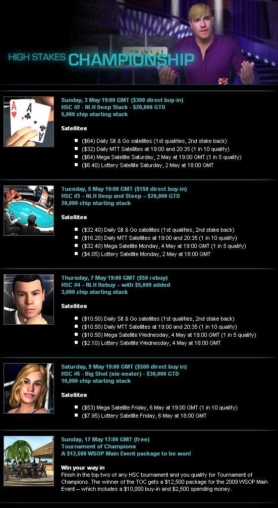 High Stakes Championship na PKR Poker! 101