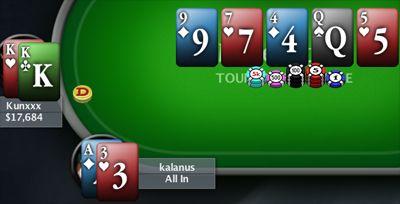 PORTUGAL AO VIVO 2009 – Kunxxx Venceu 1º Torneio de Junho na PokerStars 101