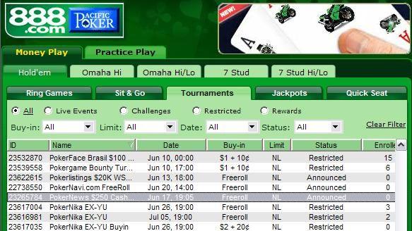 $250 PokerNews Cash Freeroll - 888 Poker