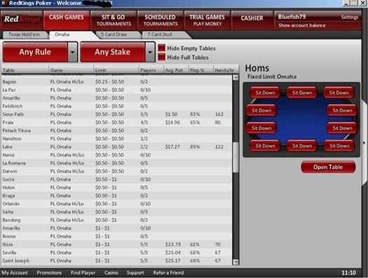 Ongame võrgustiku pokkeritubades uus tarkvara 102