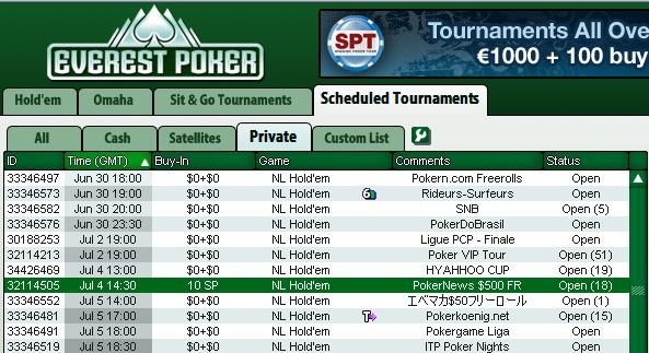 Catch the Next 0 PokerNews Cash Freeroll at Everest Poker! 101