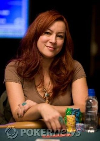 Jennifer Tilly at the 2008 WSOP