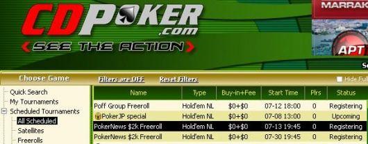 ,000 em Dinheiro e Tickets 0K GTD Para Agarrar na CD Poker! 101