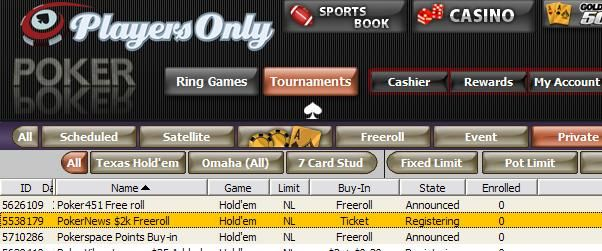 $2,000 CASH Freeroll for PokerNews on August 16!