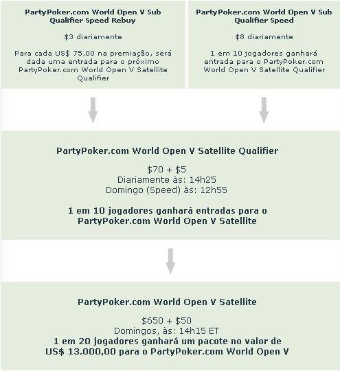 Promoção PartyPoker.com World Open V 101