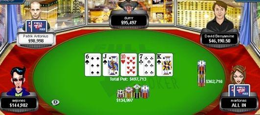 """Svenske """"martonas"""" vinner stort vid Full Tilt Pokers high stakes bord 101"""