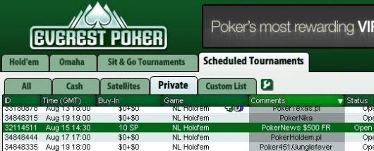 今天就参加我们在Everest Poker举办的500美元免费比赛! 101