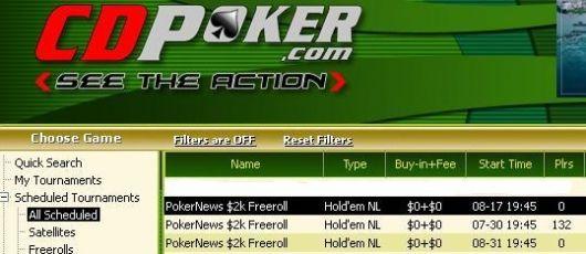 Eksklusive Freeroller hos både William Hill og CD Poker! 102