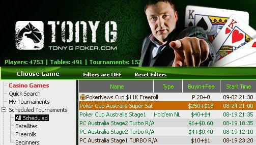 Explosive PokerNews Cup Satellite Series on iPoker network