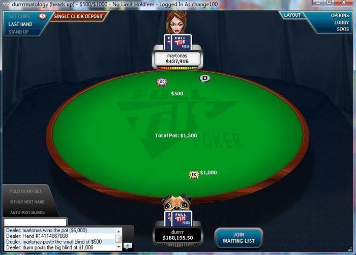 """The Online Railbird Report: Tom """"durrrr"""" Dwan Wins a 0,000 Pot from Who? 102"""