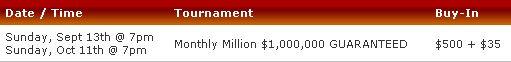 SunPoker Apresenta Dois Torneios com  Milhão Garantidos 101