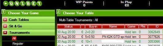 Mängi ja võida Unibeti turniiriseerial osa €2000-st! 101