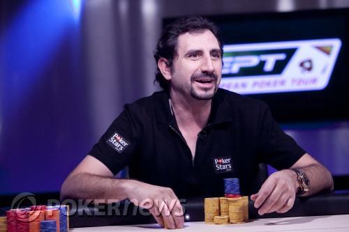 Santiago Terrazas 3º del EPT Barcelona 101
