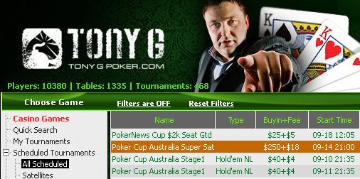 Last iPoker PokerNews Cup Satellite!