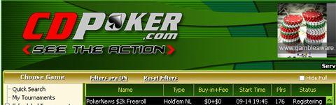 ,000 em Dinheiro e Tickets 0K GTD em Jogo na William Hill e CD Poker 102