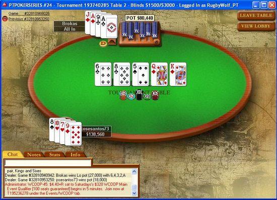 """José """"josesantos73"""" Santos Vence Etapa #24 do PT Poker Series 101"""