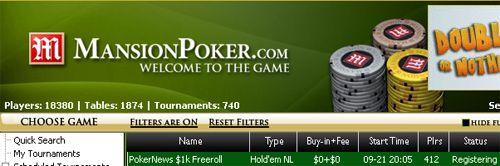 ,000 PokerNews Cash Freeroll na Mansion Poker – Amanhã às 19:05! 101