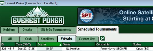 Hoje às 17:35 0 PokerNews Cash Freerolls na Everest Poker 101
