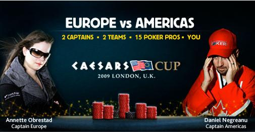 El Team Europe gana la Casesars Cup de poker 101