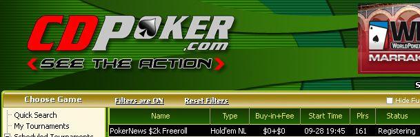 Hoje às 19:45 ,000 em Dinheiro e Tickets 0K GTD em Jogo na William Hill e CD Poker 102