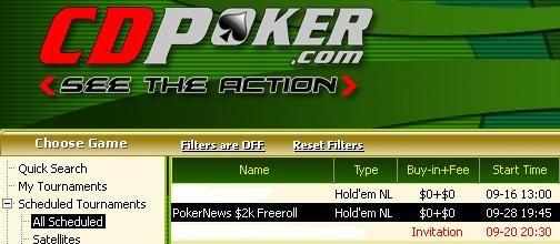 William Hill和 CD Poker 2000$和10万美圆保证金比赛的门票! 102