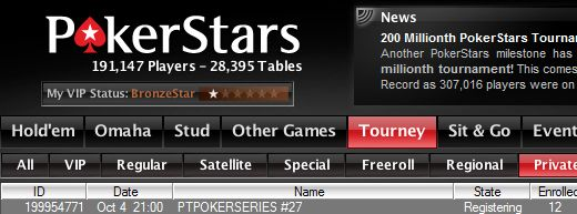PT Poker Series – Etapa #27 No-Limit Hold'em com Rebuys 101