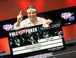 Full Tilt Poker Series de Barcelona: César Ordóñez, campeón 101